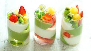 【Eng Sub】#抹茶 #杏仁豆腐  帶給夏日一絲清涼 Matcha Almond Tofu