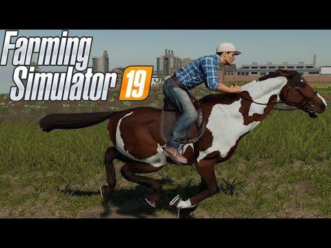 Farming Simulator 19 Guide to Horses - Horse Paddocks, Buying Horses, Selling Horses, Feeding Horses