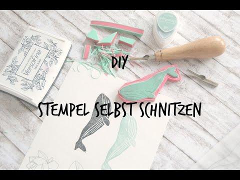 DIY - Stempel selber machen (german/deutsch)