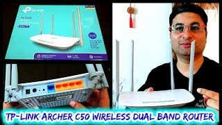 TP-Link Archer C50 Wireless Dual Band Router review