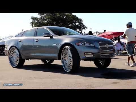WhipAddict: Jaguar XJL on Brushed Asanti 30s!