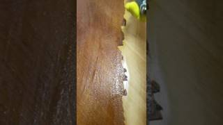 Removing Woos Stain with Jasco instead of sanding