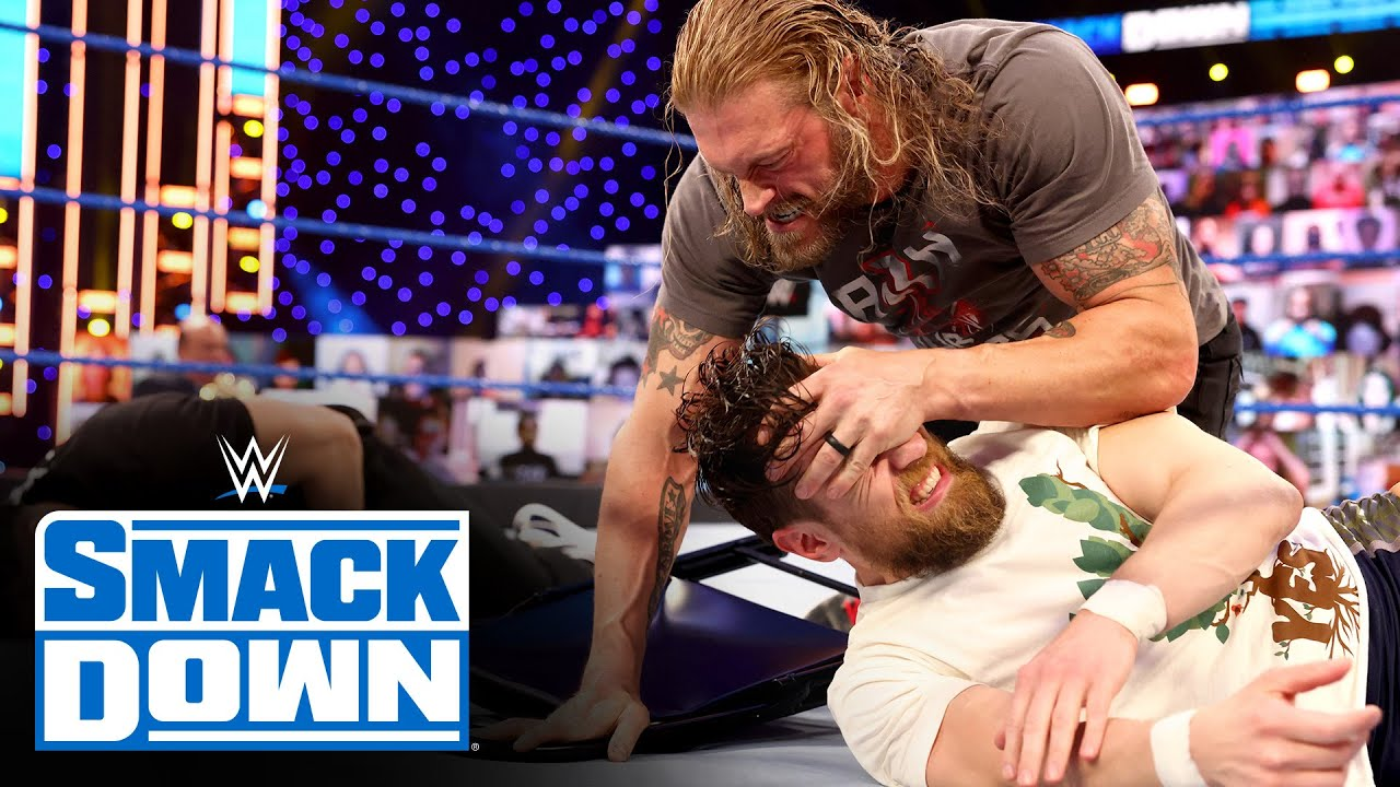 Roman Reigns, Edge And Daniel Bryan Erupt After WrestleMania 37 Change On WWE SmackDown