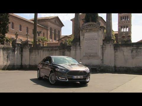 Ford Mondeo Hybrid Седан класса D - тест-драйв 1