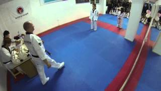 Kyung Hee Athens - Intro and Yellow belt 06/03/14 (01)