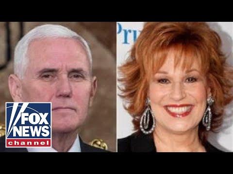 Mike Pence urges Joy Behar to apologize to Christians