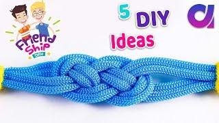 5 EASY And Cool Bracelets | DIY Friendship Bracelets | Artkala