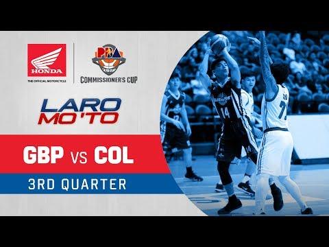 [Sport5]  GlobalPort vs. Columbian Dyip – Q3 | PBA Commissioner's Cup 2018