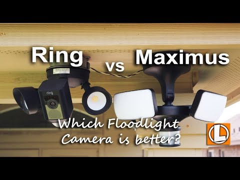 Ring Floodlight Cam vs Maximus Floodlight Camera - Features, Installation, Footage and Pricing. by LifeHackster