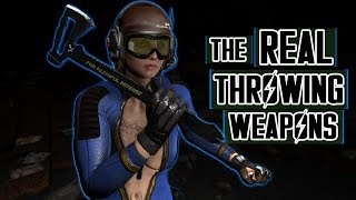 FALLOUT 4 MODS - REAL THROWING AND TACTICAL WEAPONS MODS