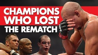 10 Champions That Lost the Rubber/Re-Match
