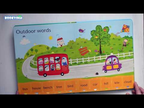 Видео обзор Lift-the-flap word book