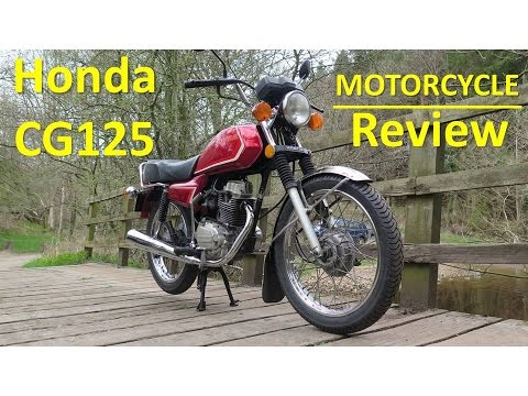 Honda CG125 - Motorcycle Review