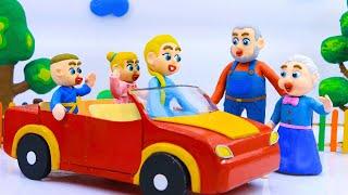 Familia LuKa 🏠 LuKa y Elsa ayudan al abuelo a limpiar el almacén 💖 Dibujos animados para niños