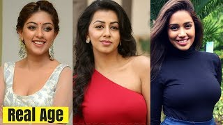 Real Age of Top 15 Trending Young South Indian Actress 2018