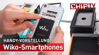 Smartphones von Wiko - Erster Eindruck deutsch | CHIP