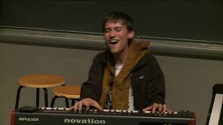 Jacob Collier - Danny Boy / Hajanga - MIT 2016 (Leveled Audio)