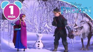 Frozen | Anna And Sven Meet Olaf! | Disney Junior UK