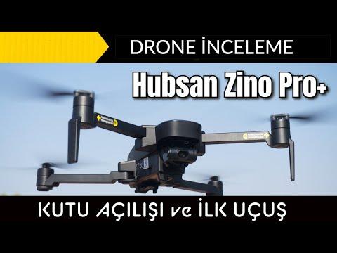 Hubsan Zino Pro Plus İnceleme , Kutu Açılışı ve İlk Uçuş