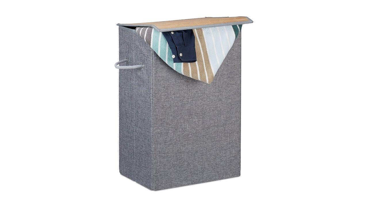 Video von: Wäschekorb mit Klettdeckel