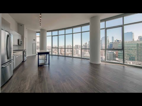 A spacious West Loop 3-bedroom, 3-bath #3602 at the new 727 West Madison