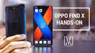 OPPO Find X: You haven't seen anything like this!