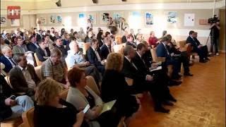 Губернатор Сергей Митин встретился с трудовым коллективом «Акрона»