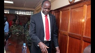Okoth Obado moved to KNH general ward - VIDEO
