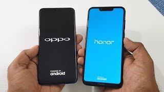 Oppo F9 Pro vs Honor Play Speed Test & Camera Comparison !