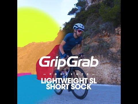 GripGrab Lightweight SL Short Cykelstrømper Orange Hi-vis video