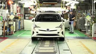Toyota Prius FULL PRODUCTION in Japan
