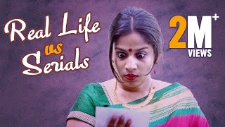 Real life vs Serials || Mahathalli