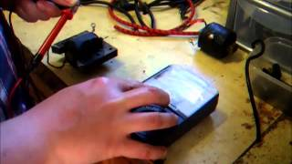 How to; Test HT ignition coils, HT leads, joiners and caps with a Multimeter.