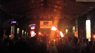preview picture of video 'Dni Mesta Martin -- Ohňová Show - Fire Show'