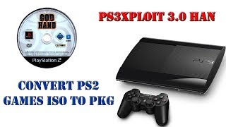 HOW to CONVERT PS2 ISO/BIN to PS3 PKG for [HAN] - Самые