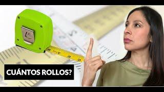 ¿Cuántos Rollos de Papel Tapiz Necesito?