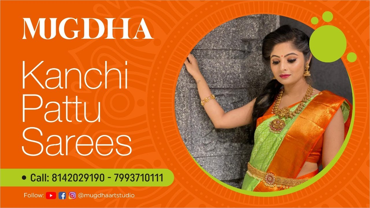 "<p style=""color: red"">Video : </p>Exclusicve Kanchi Pattu Sarees.  2021-01-21"