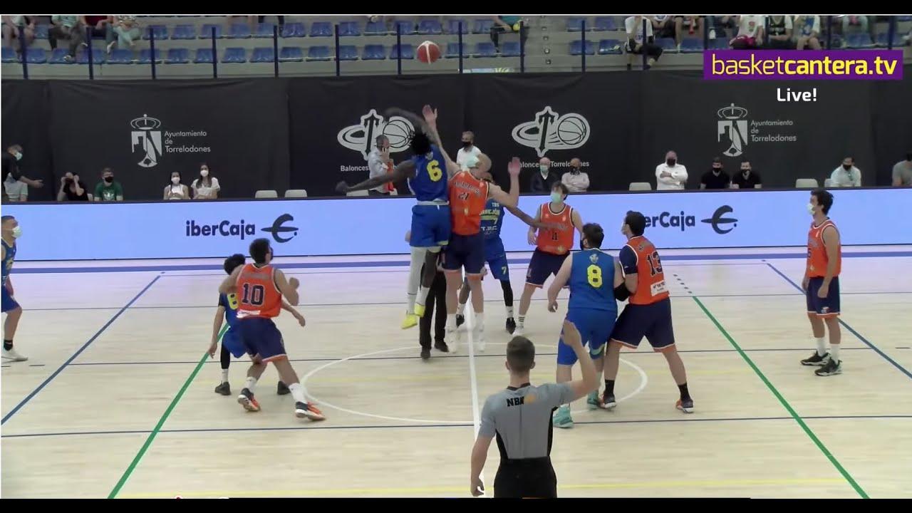 Ascenso EBA: TORREJÓN vs MAJADAHONDA. Semifinal #FNacionalM FBMadrid 2021
