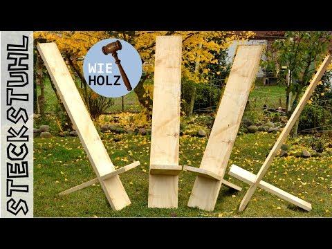 Steckstuhl bauen mit der Handkreissäge HK85 - Teil 1