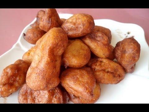 Beignets de banane -Recettes Africaines