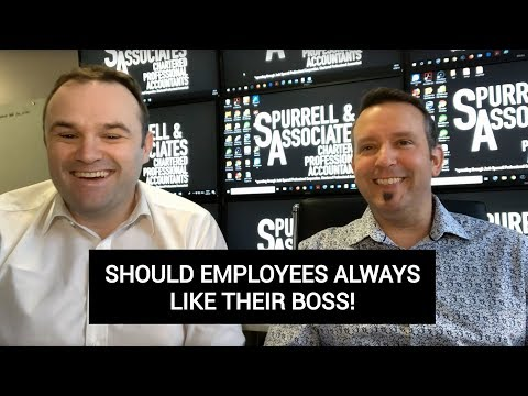 Should Employees Always Like Their Boss