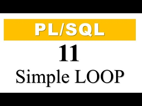 PL/SQL tutorial 11: PL/SQL Simple Loop in Oracle Database by Manish Sharma RebellionRider.com