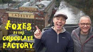 The BEST things about living on a Narrowboat? A Chocolate Factory by the Canal!