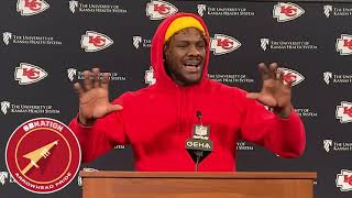 Frank Clark explains why he won't go offsides for Chiefs (AFC Championship 2019)