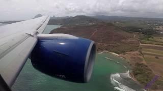 A Club World flight from London Gatwick to St Lucia (UVF) on G-VIIW B777 BA2159