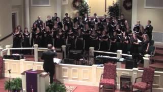 "TMC Choir ""On Christmas Night, All Christians Sing"" @ Christmas Concert 2012"