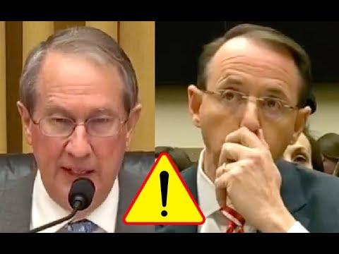 Congressman Goodlatte Walks Rod Rosenstein To His Testimony Chair Then SLAMS The FBI For Corruption!