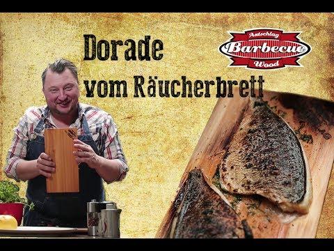 Zedernplanke | Dorade - Grillrezept mit Sebastian Lege | Räucherbrett  | Zedernholzplanke