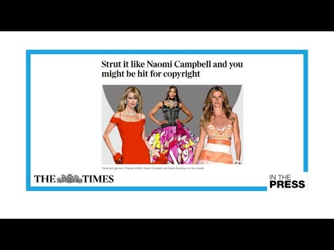 Should supermodels' catwalk strut be protected by copyright?
