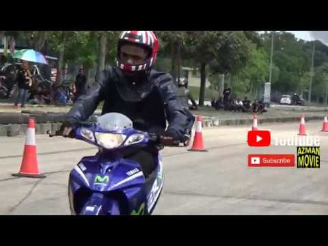 Drag Bike 2T 125z std body Drag Racing Kubang Menerong May 2018